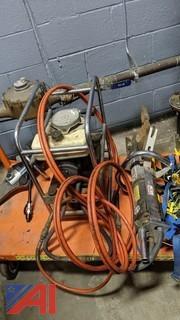 Hydraulic Pump & Hurst Cutter/Spreader