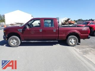 2008 Ford F250 Super Duty Crew Cab Pickup Truck