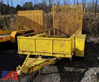 1997 Howe Brothers Equipment Trailer with Ramp