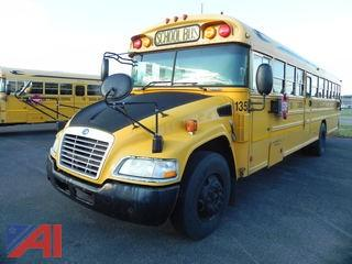 (135) 2010 Blue Bird Vision School Bus