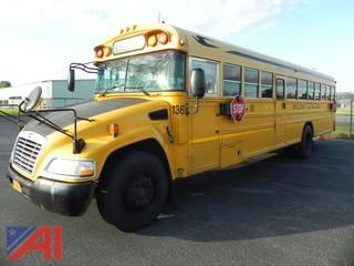 (136) 2010 Blue Bird Vision School Bus