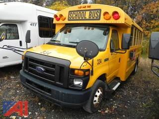 (334) 2009 Ford/Thomas E450 Mini School Bus
