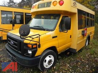 (336) 2008 Ford E350 Super Duty Mini School Bus