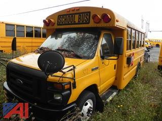 (332) 2009 Ford/Thomas E450 Mini School Bus