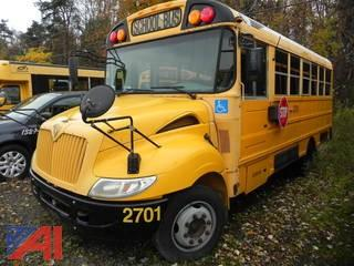 (2701) 2007 International 3000 Mini Wheelchair School Bus
