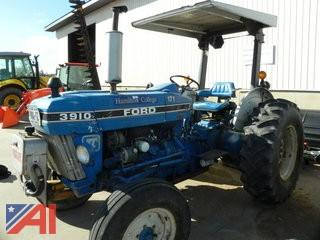 (#171) 1987 Ford 3910 (CA414C) Tractor with Sickle Bar