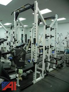 (#24) Squat Rack Exercise Equipment
