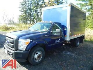 (#14) 2012 Ford F350 XL Super Duty Box Truck