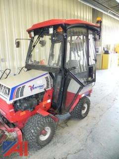 (#163) 2013 Ventrac 4500Y with Enclosed Cab