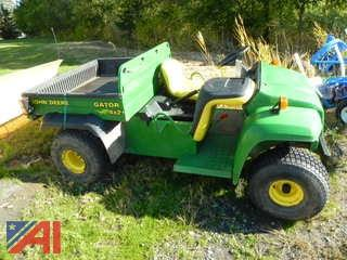 (#177) 2001 John Deere Gator 4 x 2 with Dump