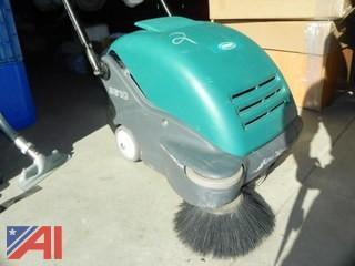 (#2) Tennant 3610 Compact Walk-Behind Battery Operated Sweeper