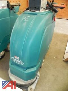 "(#3) Tennant 5100 17"" Battery Powered Floor Scrubber with Charger"