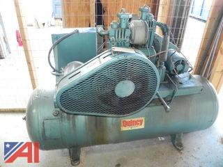 (#12) Quincy Air Compressor
