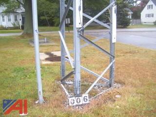 Rohn Galvanized Radio Tower