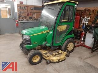 "John Deere 62"" Riding Mower with Hard Cab"