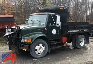 2001 International 4700 Dump Truck w/ Plow