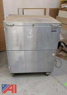 Norlake Stainless Steel Refrigerator