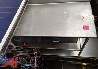 5' Stainless Steel Prep Table 2 Drawer