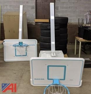 Splash and Slam Pool Basketball Backboards