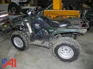 2002 Suzuki Vinson QuadRunner 500 ATV