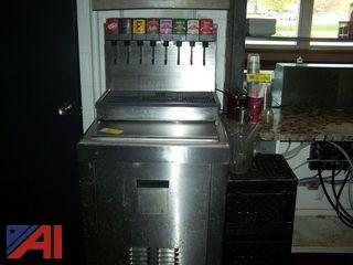 McMann's 8 Head Soda Fountain Machine