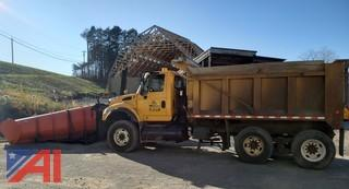 2006 International 7600 Dump Truck with Plow and Wing