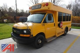 2011 Chevy Express Mini School Bus