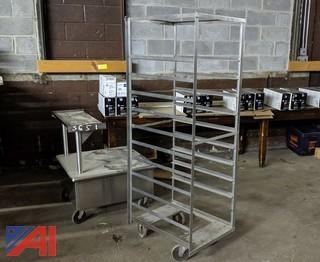Stainless Steel Tray Rack & Cart