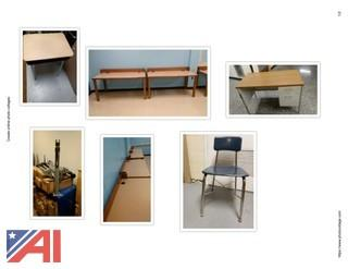(#3) Various Student Desks & Chairs