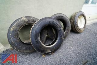 Used 11R24.5 Heavy Truck Tires