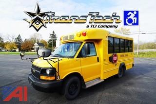 2012 Chevy Express G3500 Trans Tech Mini Wheelchair Bus