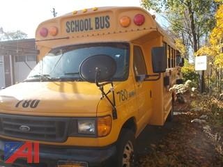 2005 Ford E350 Mini School Bus