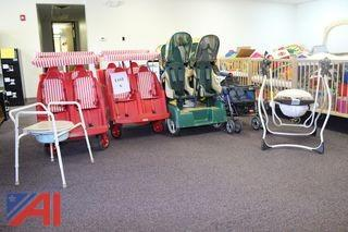 (#6) Child's Strollers and More