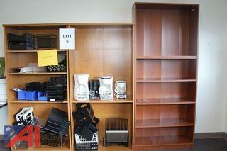 (#9) LargeWooden  Bookcases and More