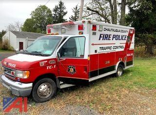 1997 Ford E450 RVC Ambulance