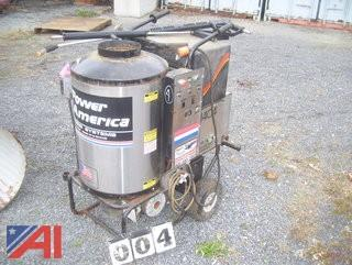 Power America Steam Cleaner