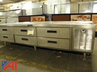 Delfield 6 Drawer Refrigerated Equipment Table