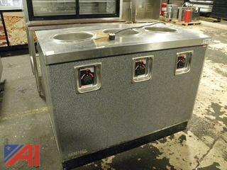 Duke Heritage 3 Well Soup/Sauce Warmer