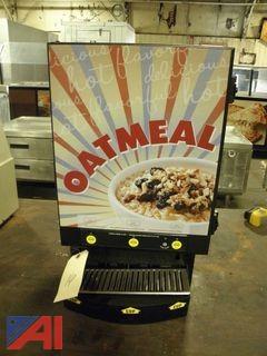 Wilbur Curtis 3 Station Dispensing Oatmeal Machine