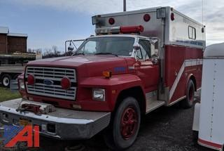 1985 Ford F700 Utility Rescue Truck
