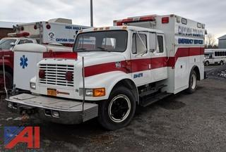 1991 International 4600 Utility Rescue Truck