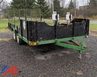 Dual Axle Utility Trailer with Ramp