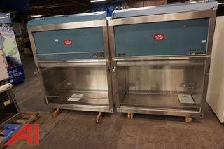 (2) NuAire Biological Safety Cabinets