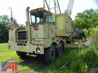 American Crane 5435 120' Lattice Boom Truck
