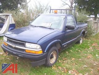 2000 Chevy S10 Pickup Truck
