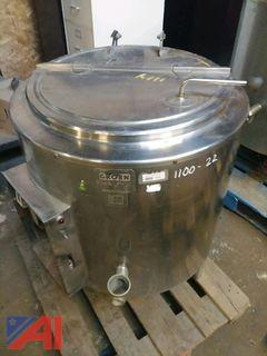 Groen 40 Gallon SS Steam Kettle