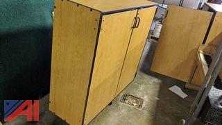 Double Door Wooden Cabinet & More