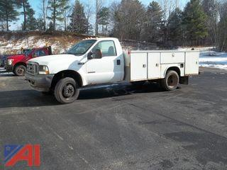 2004 Ford F550 Utility Truck