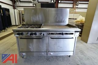 """Southbend 60"""" 4 Burner Gas Range/Oven"""