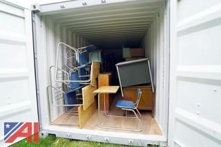 Student Desks in Container #1